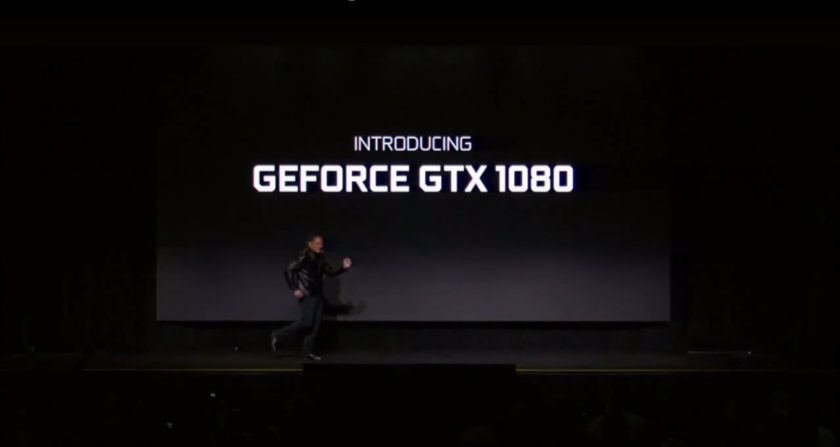 So effortlessly, just like that, Jen-Hsun announced the GTX 1080.
