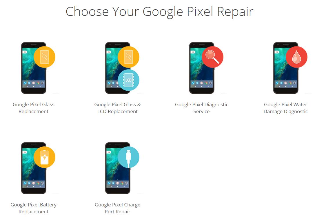 Google Pixel repairs