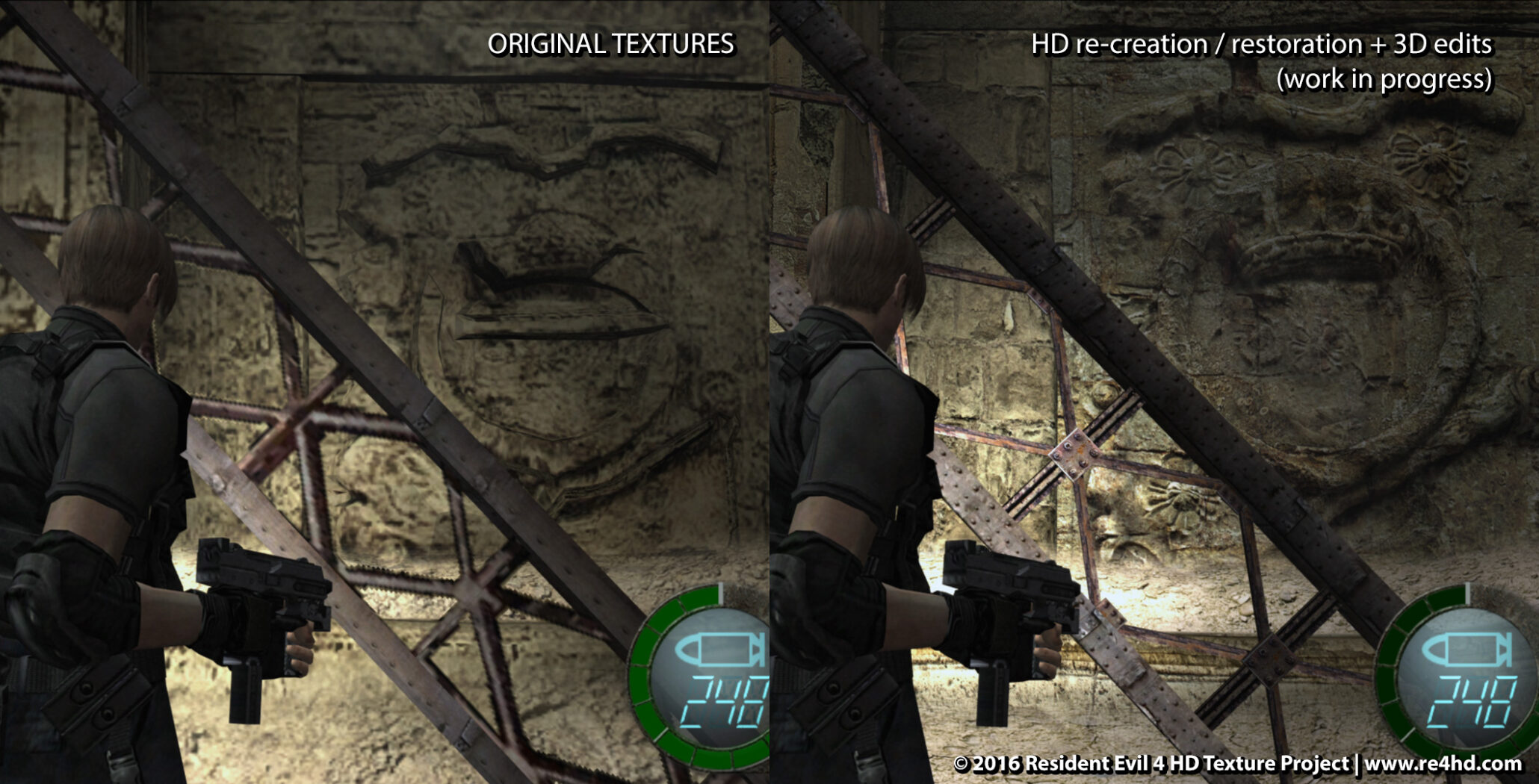 Resident Evil 4 HD Project New Screens And Video Showcase More