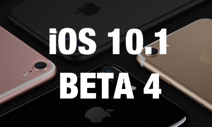 iOS 10.1 Beta 4