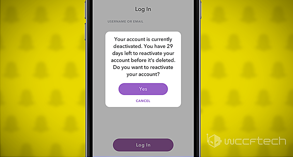 how to get your snapchat account back without email or phone