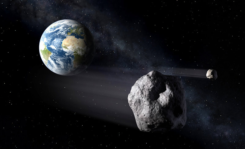NASA's Scout System Detects An Asteroid Heading Towards ...