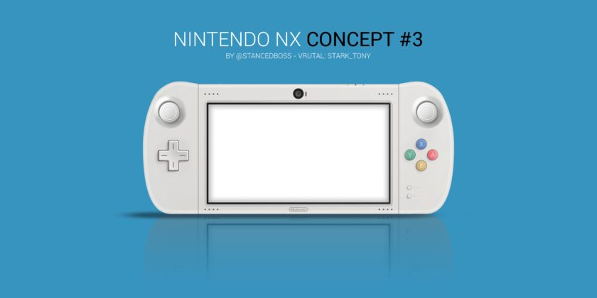 Nintendo NX Mock up