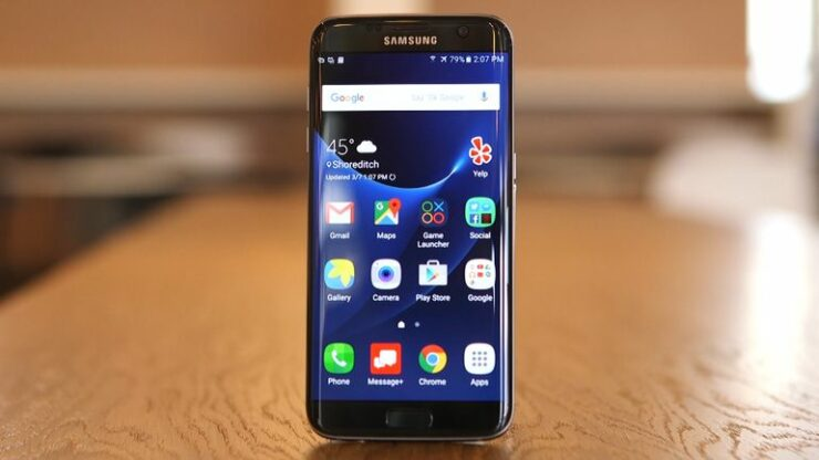 Activate gestures on Galaxy S7 edge