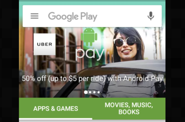 Google Play Store UI changes