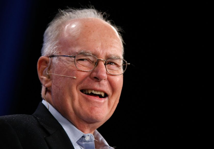 Gordon Moore, co-founder of Intel and creator of Moore's Law.