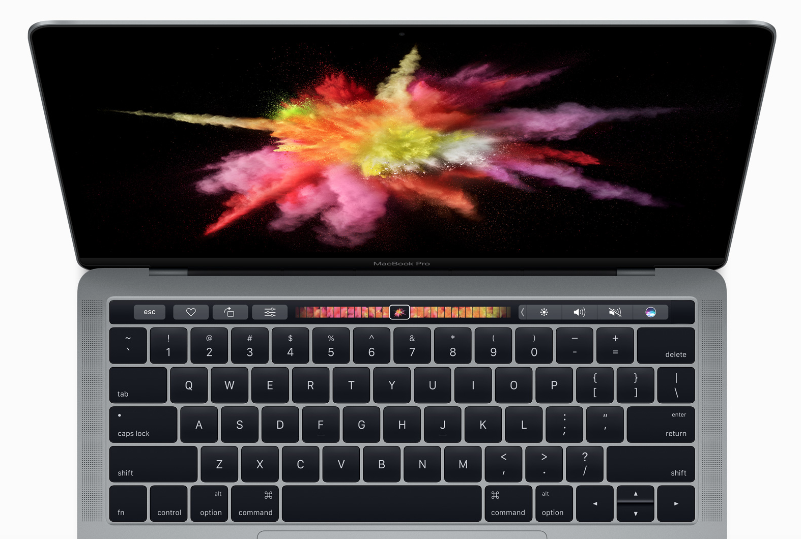 2016 MacBook Pro model spec differences