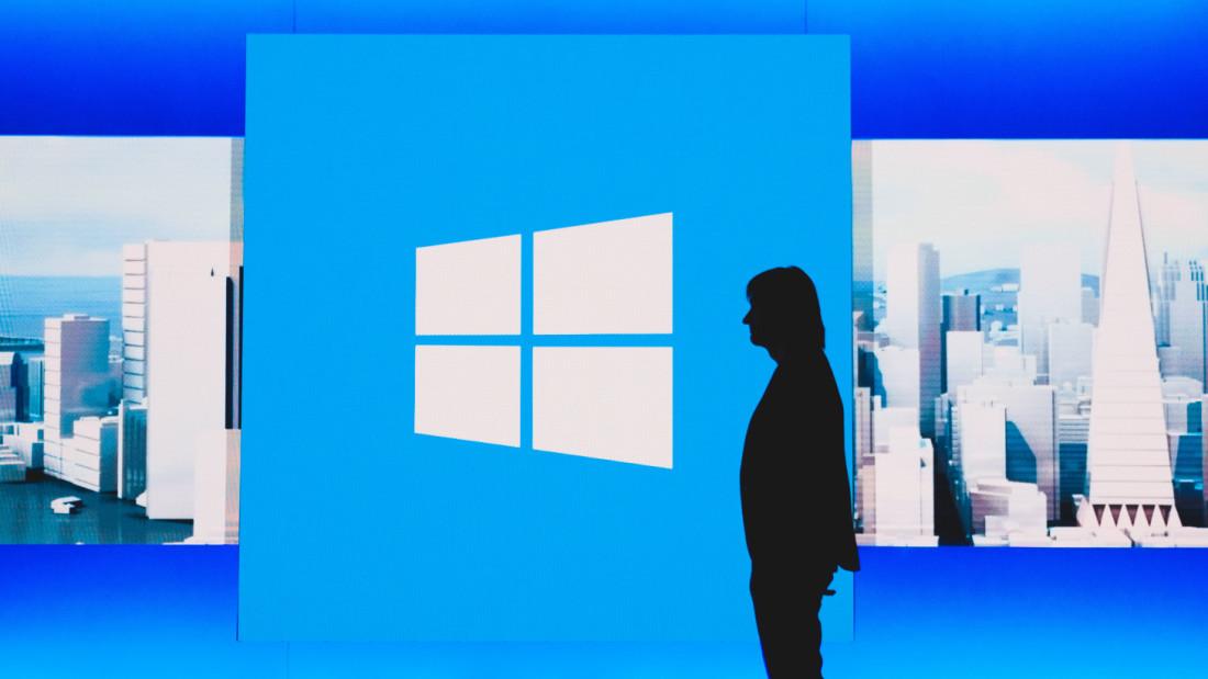 Windows 10 growth rate