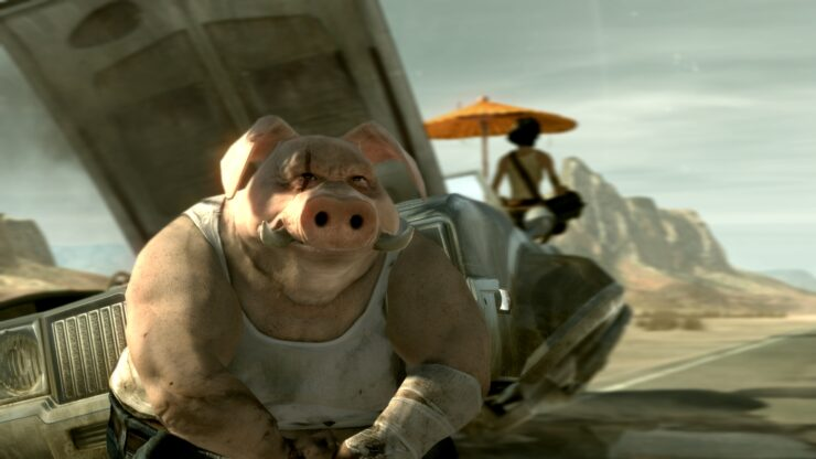 Beyond Good & Evil 2 Pre-Production