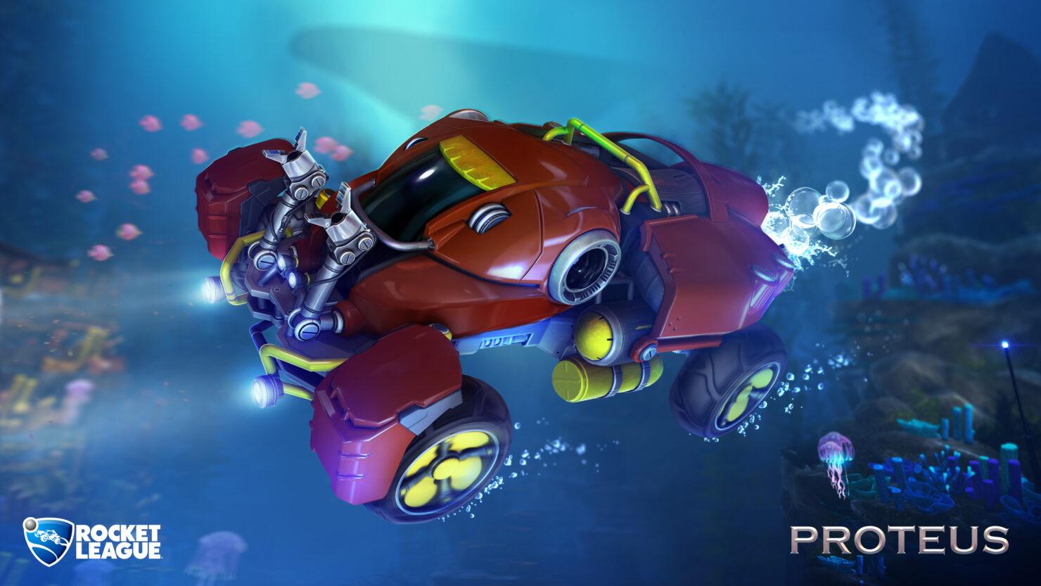 Rocket League Patch 1.24 AquaDome DLC