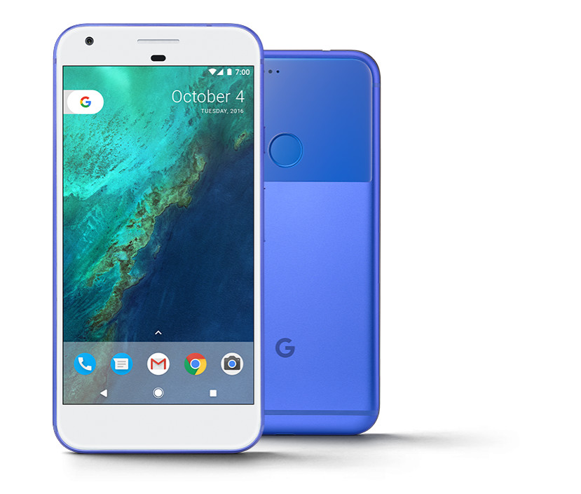 Pixel Ships with Android 7.1 Nougat