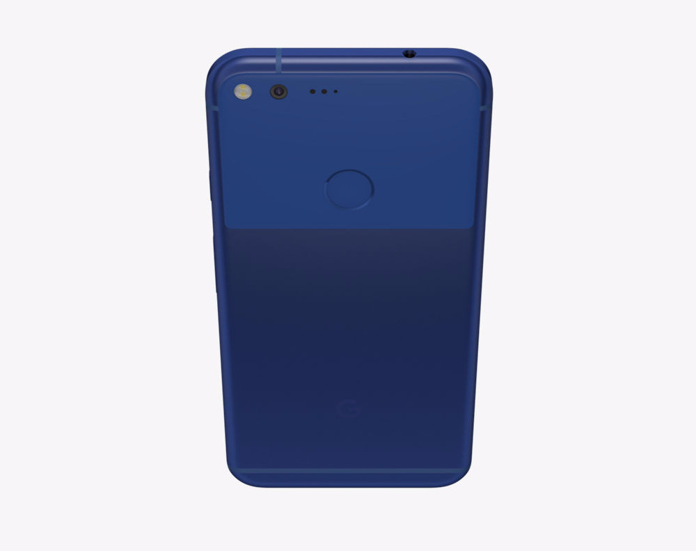 Really Blue Pixel