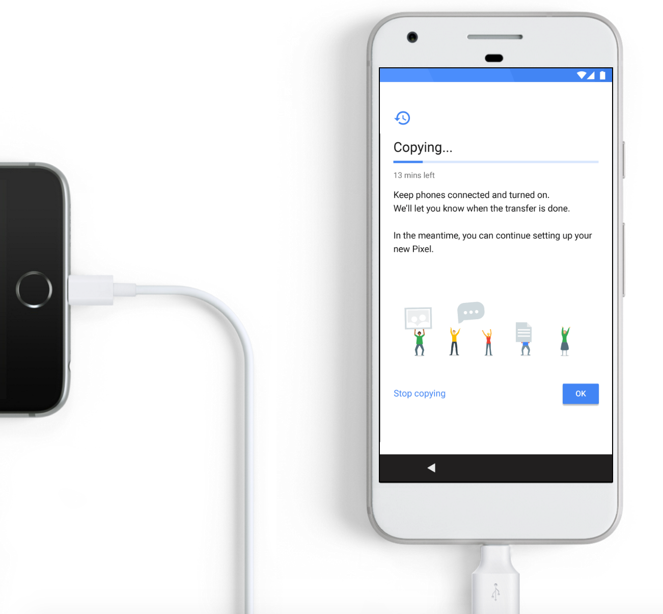 Google Really Wants People To Switch From IPhone To Pixel