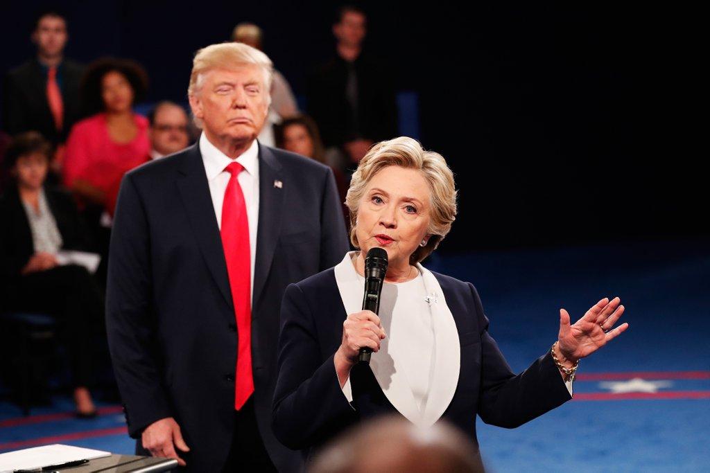 Twitter 2016 US Presidential Debate