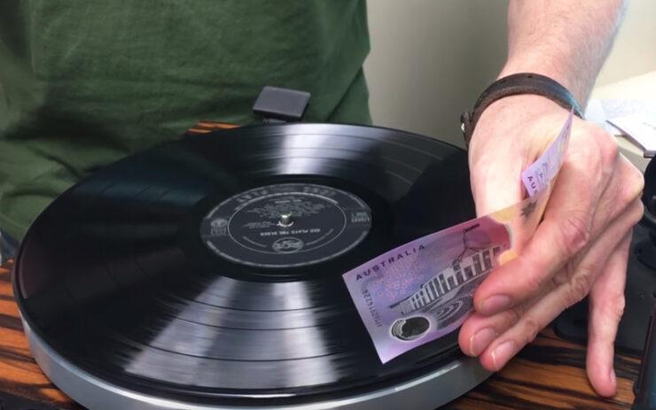 Australia $5 Vinyl Money