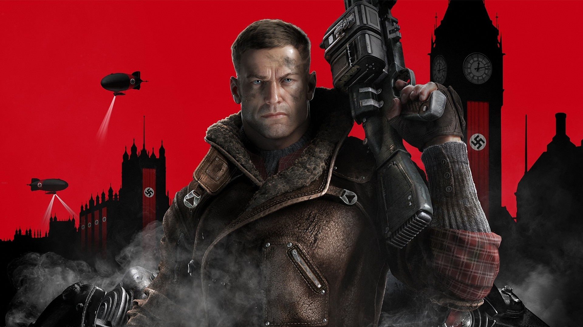 Wolfenstein New Colossus Teased By B J Blazkowicz Actor