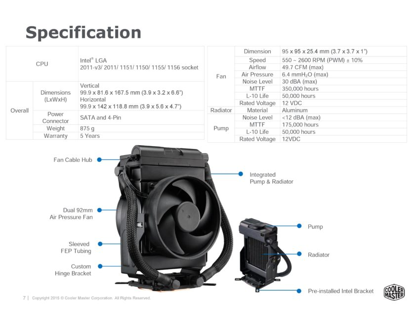 Maker 92 specifications