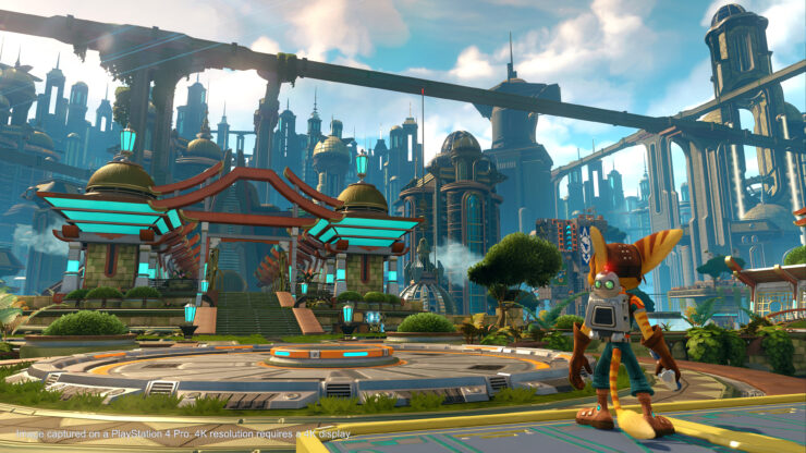Ratchet & Clank PS4 Pro Update