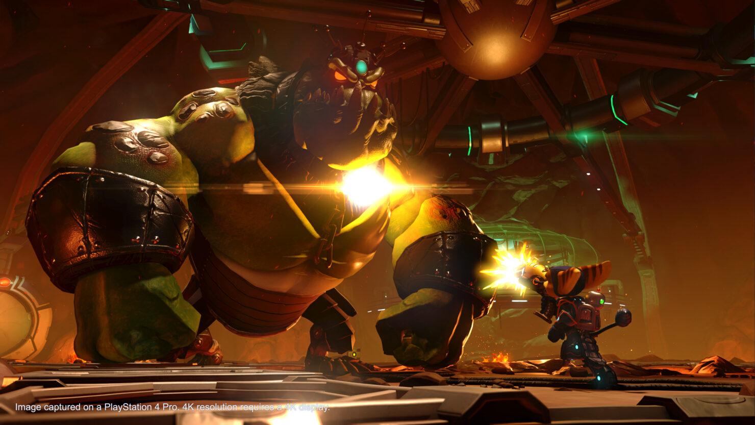 Ratchet & Clank PS4 Pro Update