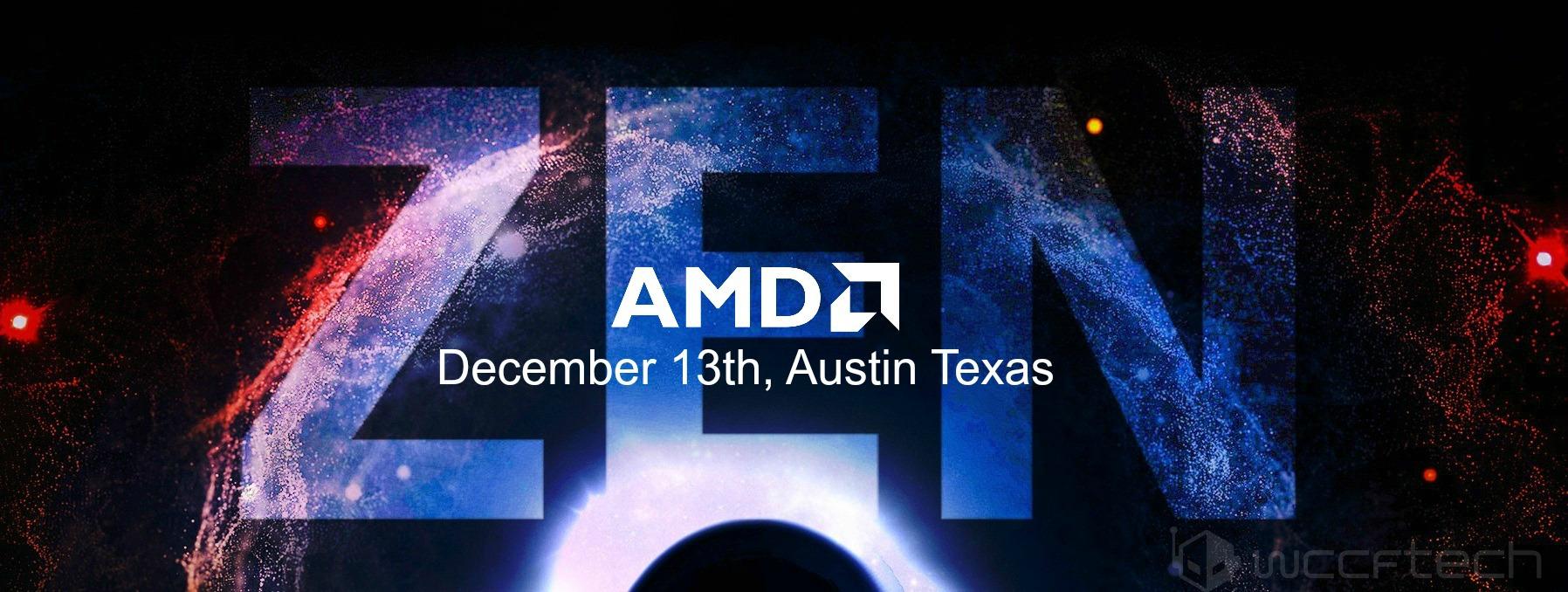 AMD Zen Feature New Horizon Event
