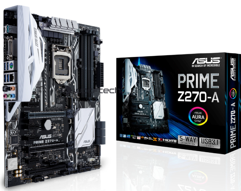 ASUS PRIME Z270A Motherboard