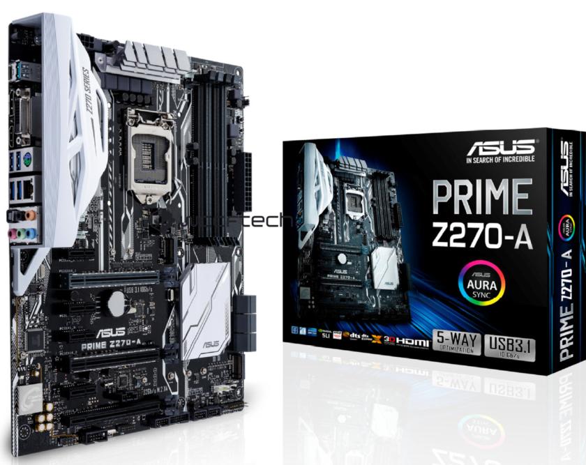 ASUS PRIME Z270A Motherboard