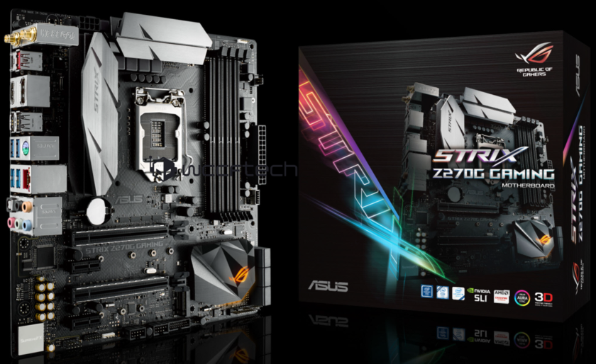 ASUS STRIX Z270G Gaming Motherboard