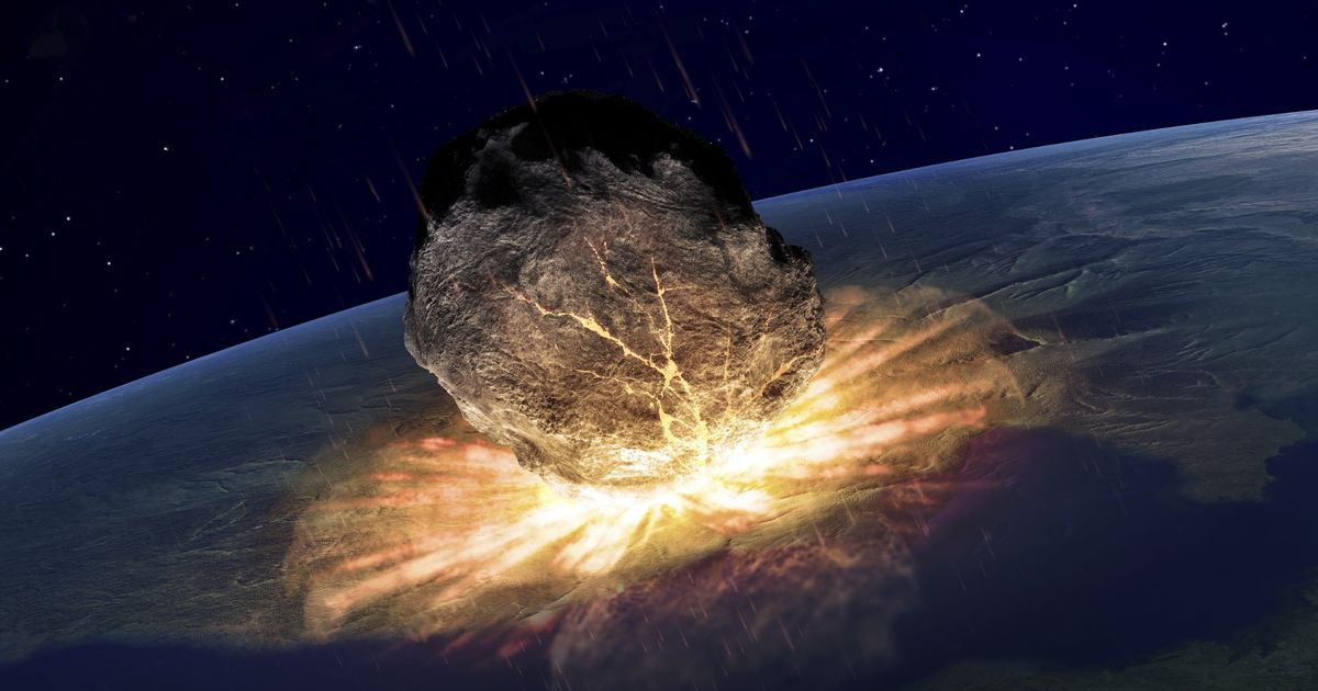 asteroid crater that killed the dinosaurs - photo #16