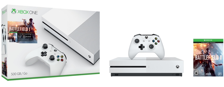 Xbox ONe S Sam's Club BF1 Deals