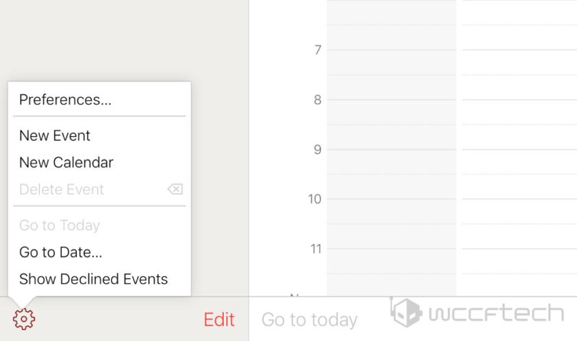 Calendar Preferences