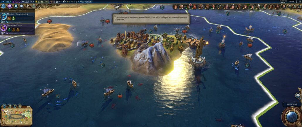 Civilization VI 02 - Sea-City
