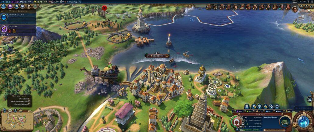 Civilization VI 03 - Sparta