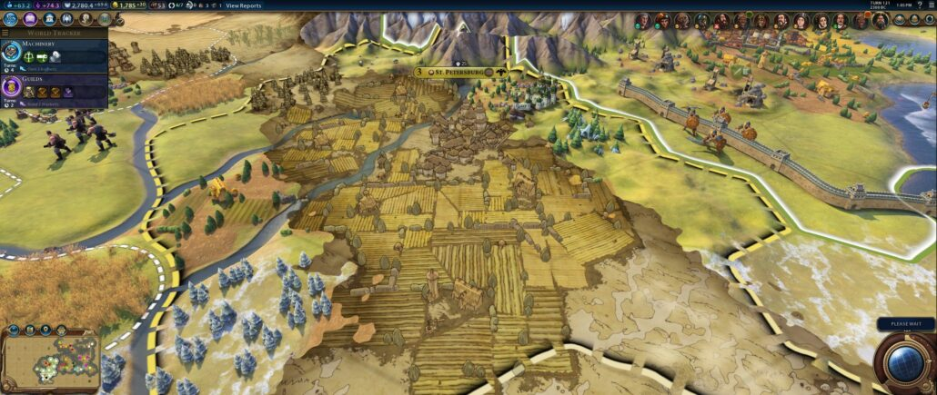 Civilization VI 06 - Artistic Map