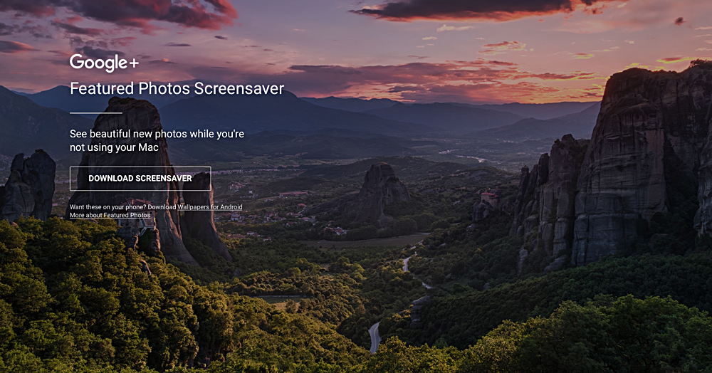 f5fbf94c9 Google Releases Featured Photos Screensaver for macOS