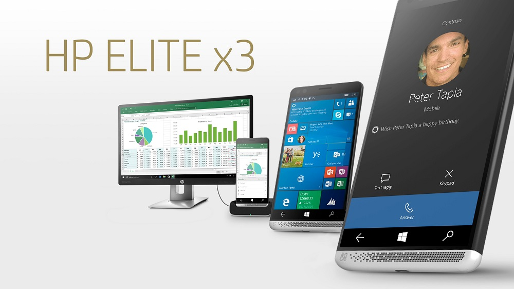 HP Elite x3 Holiday Bundle $500