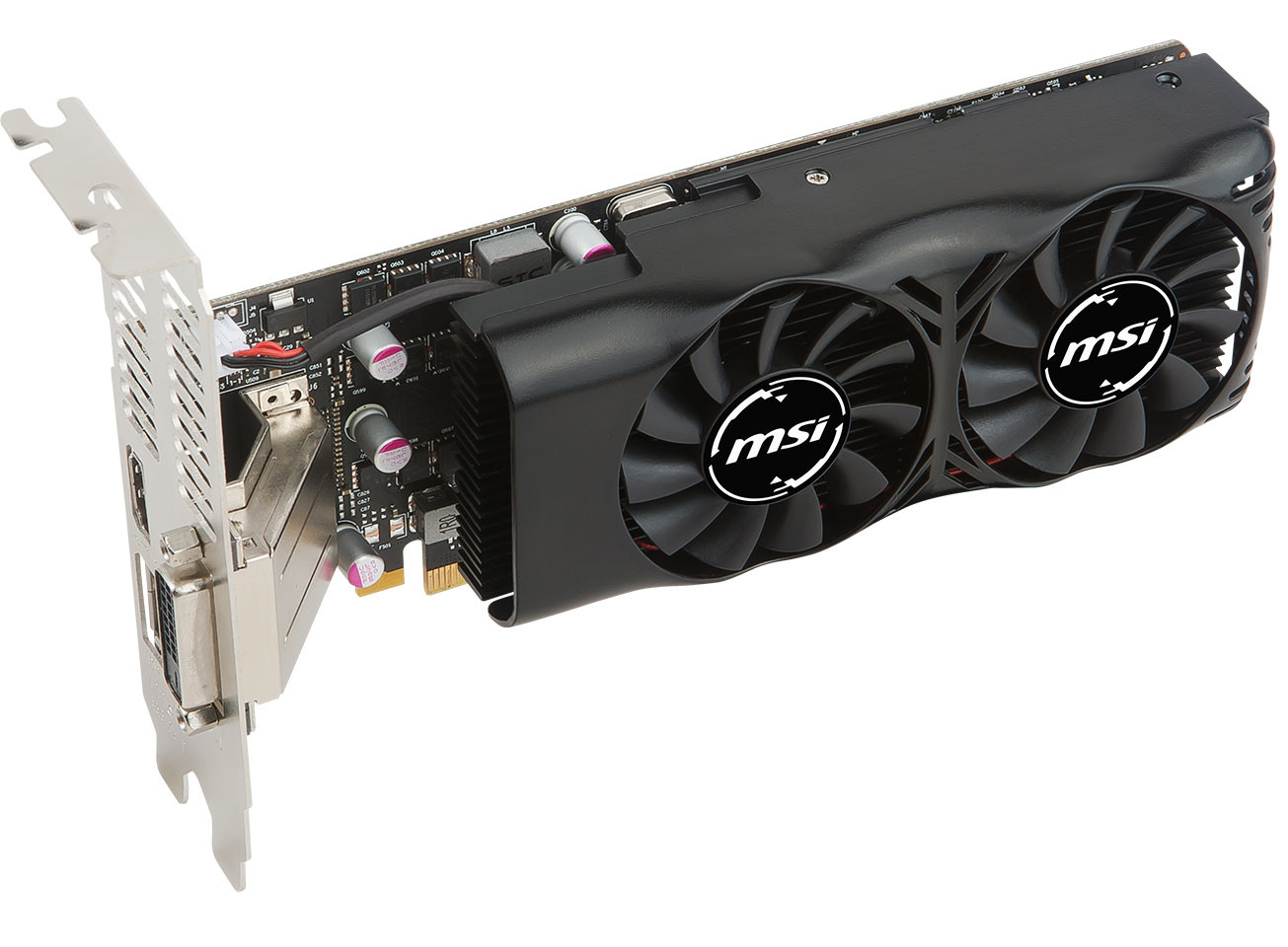 MSI GTX 1050Ti low profile card (4)