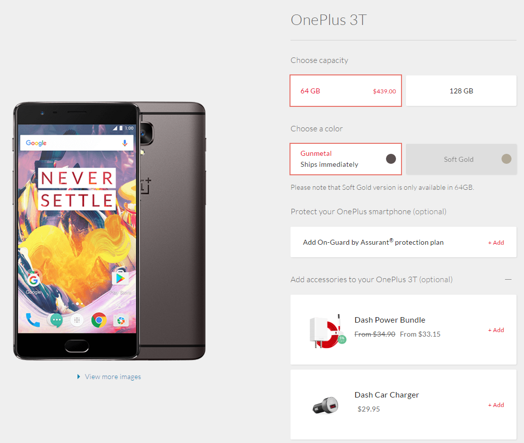 OnePlus 3T Is Now Available US – Here's How You Can Get It