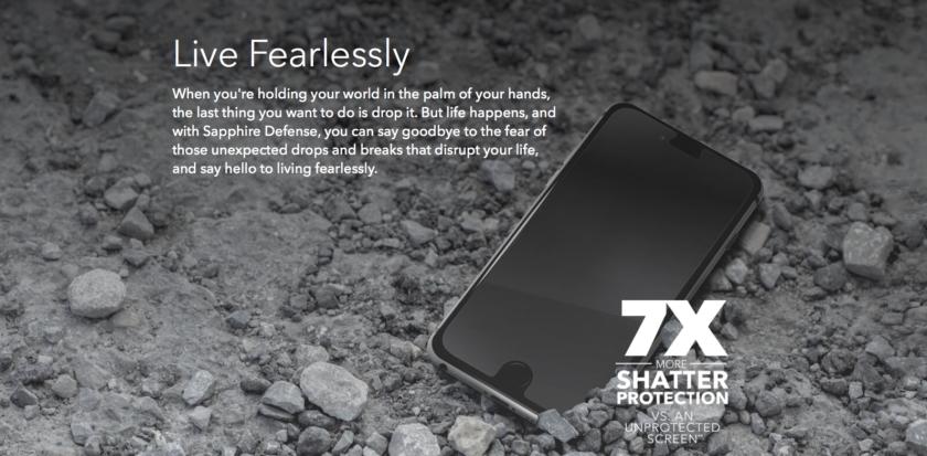 Sapphire Defense iPhone 7