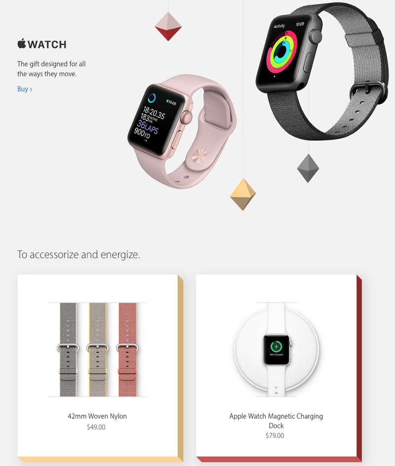 Apple's 2016 Holiday Gift Guide is Now Live