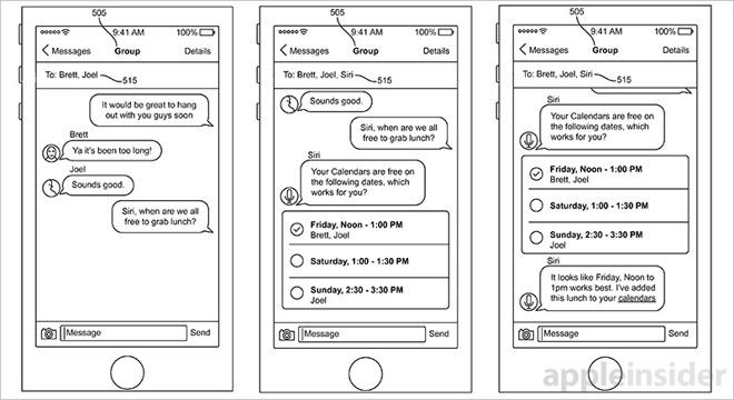 Siri patent 2