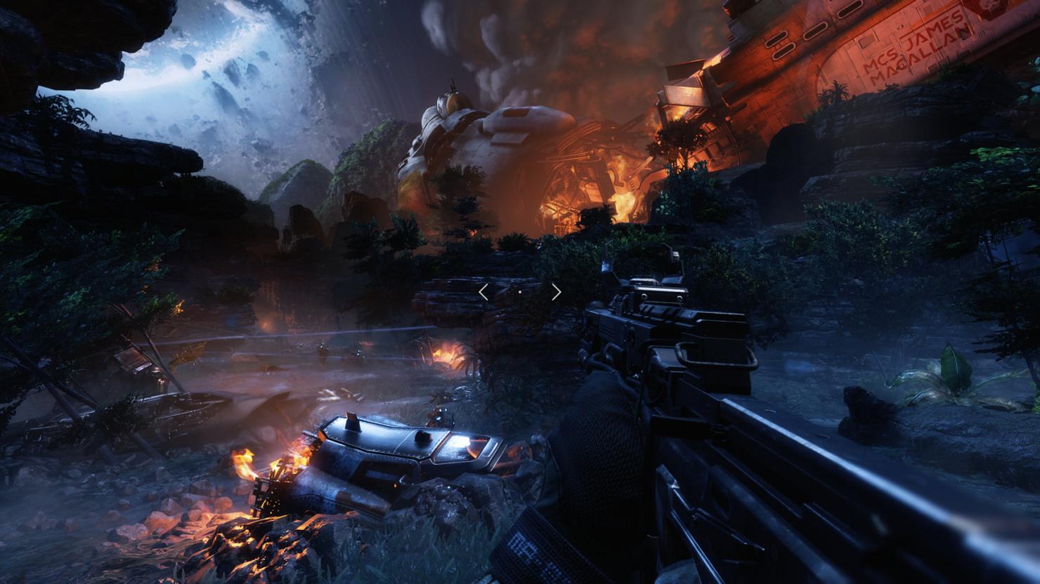 Titanfall 2 Xbox One X patch
