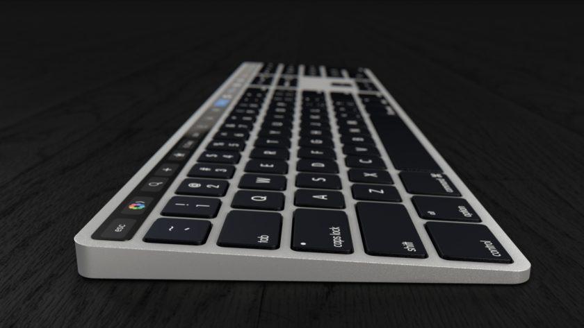 Touch Bar Keyboard 1