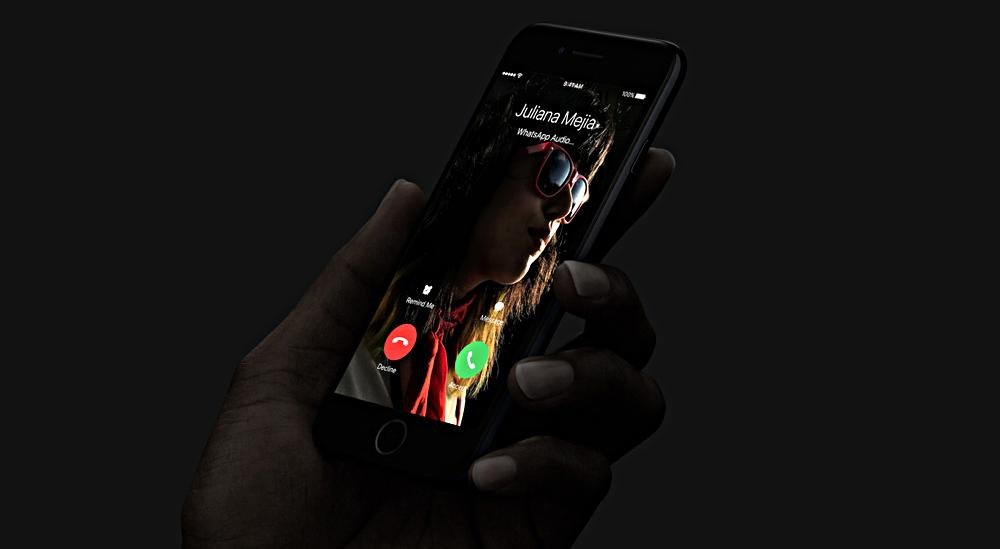iphone 7 calls interrupt video
