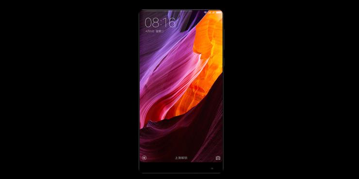Xiaomi Mi Mix stress bend tests