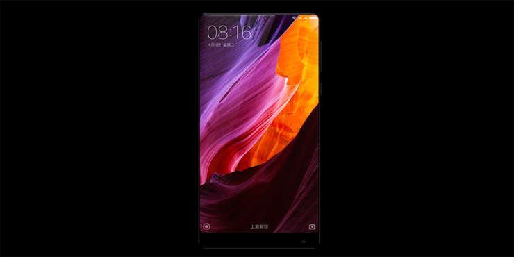 Xiaomi Mi Mix dropped broken