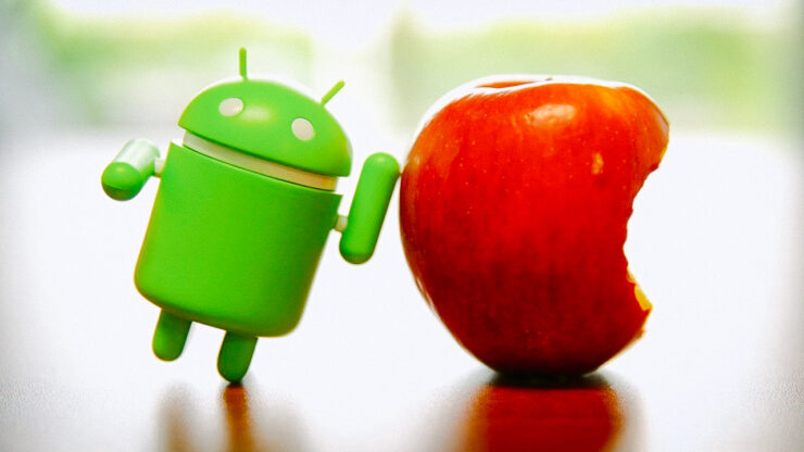 Android share at record high