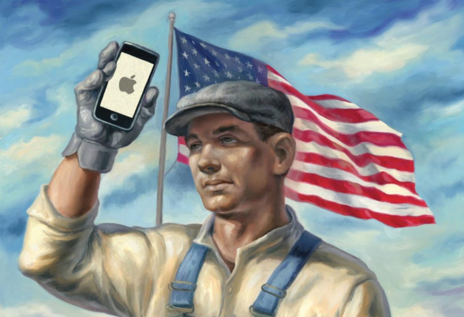 All American iPhone