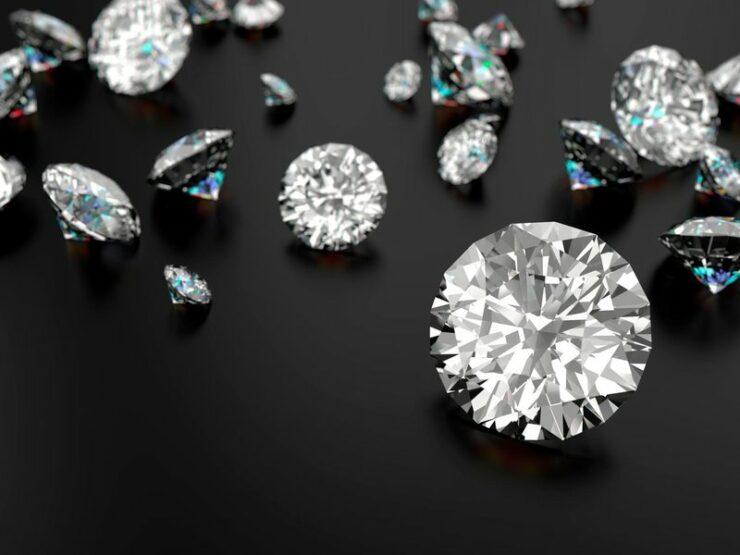 data storage in diamonds