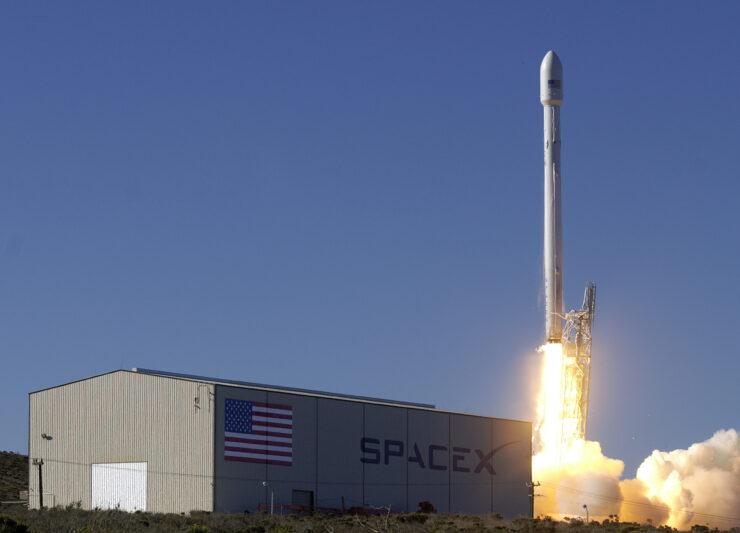Falcon-9 explosion