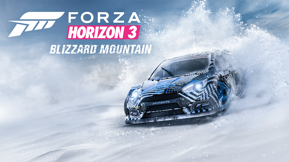 Forza Horizon 3 Blizzard Mountain Expansion Teaser Trailer Surfaces
